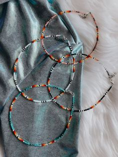 Seed Bead Necklace, Seed Bead Jewelry, Bead Jewellery, Seed Bead Bracelets Diy, Western Jewellery, Seed Beads, Seed Bead Art, Jewlery, Beaded Necklace Patterns