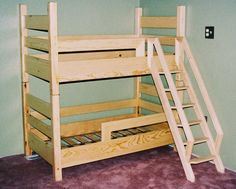 Possible bunk bed ideas - toddler bunk beds?