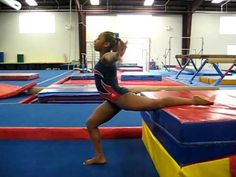 Drills and ideas for teaching split leaps to gymnasts | Swing Big! Gymnastics Blog