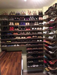 Storage Rack Shoe Ideas Master Closet Future House Sneaker Swag Organizations
