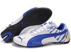 Mens Puma Future Cat 602 White Blue