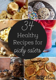 Is there a picky eater in your life? Maybe it's your toddler or a family member who has special dietary restrictions or personal preferences. Regardless of the circumstances you can still whip up a delicious and nutritious meal for the family that will please everyone's palate. Here you'll find healthy recipes for picky eaters for breakfast, lunch, dinner, snacks and even dessert…