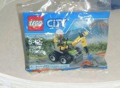 Lego City Volcano Jackhammer Set 303350 Brand New Ages 5 -12 53 pcs sealed #LEGO