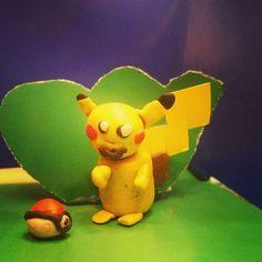#Пикачу из пластилина)) #покемон #pikachu #pokemon #pokemongo #handmade