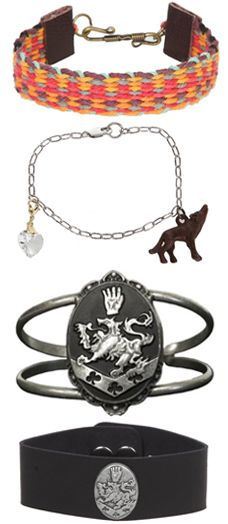 Breaking Dawn glam- have the wolf and heart bracelet!