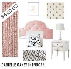 $440.00 Bedroom Design | danielle oakey interiors