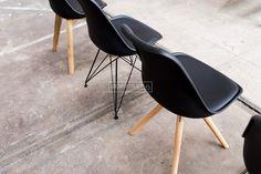 Essence   Metal Kuipstoel   Wit, Grijs & Zwart   Gewoonstijl Eames, Home And Garden, Chair, Furniture, Home Decor, Decoration Home, Room Decor, Home Furnishings, Stool