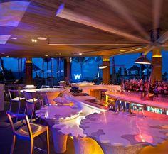 The stylish WooBar at W Hotel Bali. Photo courtesy of W Hotel Bali
