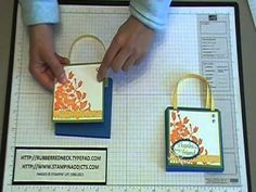 Stampin' Up! Tutorial~My Friend Purse Post-it Note Holder.MOD