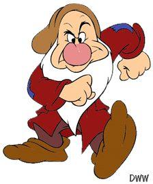 Snow White and Seven Dwarfs - Grumpy - dwarf … Walt Disney, Disney Love, Disney Art, Disney Cartoon Characters, Disney Cartoons, Grumpy Dwarf, Snow White 7 Dwarfs, Disney Coloring Pages, Seven Dwarfs