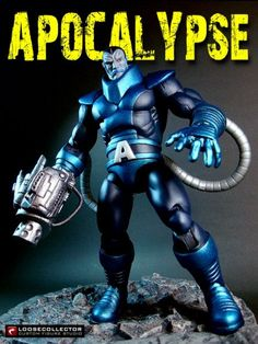 Classic Apocalypse (Marvel Legends) Custom Action Figure