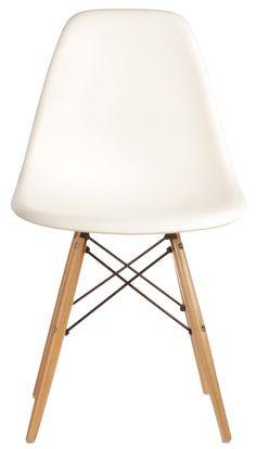 The Matt Blatt Replica Eames DSW Side Chair - Plastic by Charles and Ray Eames - Matt Blatt  sc 1 st  Pinterest & Eames Plastic Side Chairs DSW for Cafe tables | InfraRed | Pinterest ...