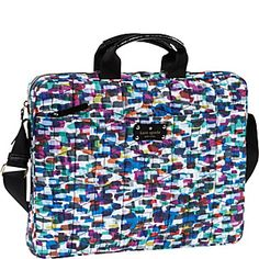 @kate spade new yorkSignature Spade Quilted Chad 15 Laptop Bag in  Whitney Multi #laptopcase #backtoschool