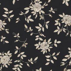 Josefina Embroidery - Black Pearl - La Hacienda - Fabric - Products - Ralph Lauren Home - RalphLaurenHome.com