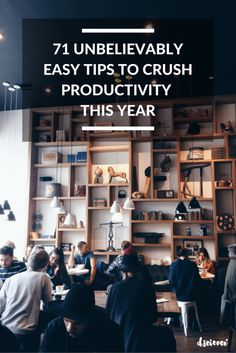 71 unbelievably easy tips to crush productivity this year (scheduled via http://www.tailwindapp.com?utm_source=pinterest&utm_medium=twpin&utm_content=post27309234&utm_campaign=scheduler_attribution)