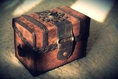 First leather box by Necromanceress on deviantART