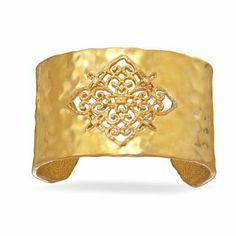 Ornate Gold Tone Fashion Cuff Bracelet Driscoll's Jewelry & Gifts. $43.75