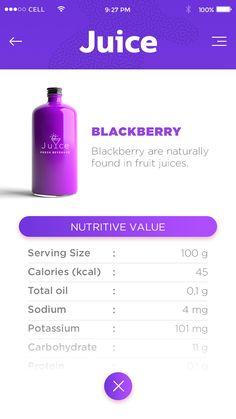 Blackberry detail