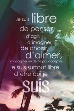Je suis libre  / I am the first, and the last... Look closer. Je Suis-Jesus. In the start of the paragraph and at the end... Read it to yourself, you are a Christ also...