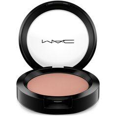 Mac Powder Blush, 0.21 oz ($22) ❤ liked on Polyvore featuring beauty products, makeup, cheek makeup, blush, beauty, eyeshadow, mac cosmetics and powder blush