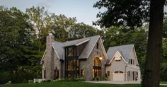 Contemporary Shingle Style House On The Shores Of Lake