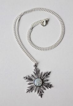 Anna Snowflake Wishing Star Necklace Once Upon A Time