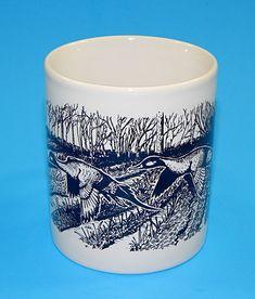Vintage Coloroll Mallard Duck Bird Geese Goose Coffee Mug Cup England #Coloroll