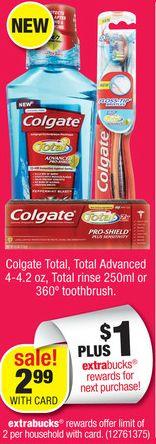 *HURRY* CVS: FREE Colgate Total Mouthwash