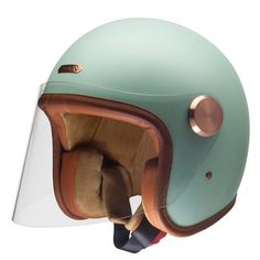 Hedon's trademark quality and style, now with crystal clear visor.