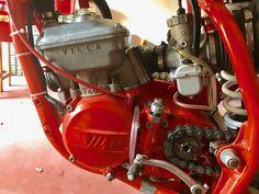 Villa Motori 125 ML Engine 1985 e