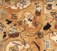 pirate maps for kids | The Following User Says Thank You to seawind For This Useful Post:
