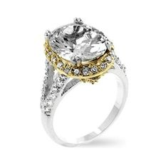Like the mix of white and yellow gold