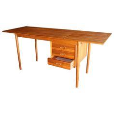 Arne Vodder Teak Student Desk for H. Sigh