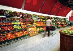 Maxi Market - Fresh fruit and veg department