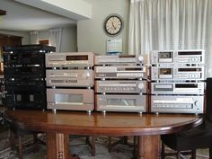 'My Yamaha Collection' by HiFi Engine user mak26 - including Yamaha models T-1020, K-1020, CDX-1110, CX-1000 and MX-1000