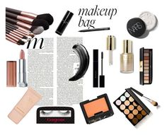 """""""Untitled #83"""" by jessieistrefi on Polyvore featuring beauty, Gucci, Yves Saint Laurent, Gorgeous Cosmetics, Stila, NARS Cosmetics, Maybelline, NYX and Bobbi Brown Cosmetics"""