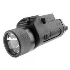 This new generation weaponlight allows you to aim and illuminate simultaneously as the mounted light is co-axial with the bore. It is preferable to conventional flashlights because these lights are more compact, attach directly to the weapon, are easier to handle and more importantly, provide significantly clearer identification of the target.