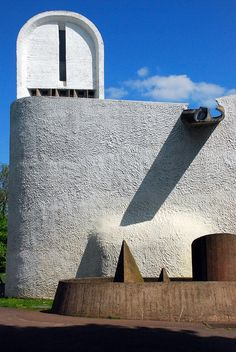 Notre-Dame du Haut, Ronchamp, Le Corbusier, 1950-1954 | Flickr - Photo Sharing!
