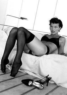 Milla jovovich pantyhose you
