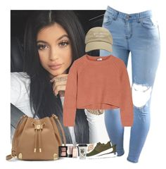 """A day with Kylie"" by jahzariah-allen ❤ liked on Polyvore featuring Brunello Cucinelli, NIKE, Vince Camuto, Natural Life, NARS Cosmetics and Nixon"