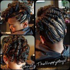 Kids Hairstyle Shared By @nappyology101 - http://community.blackhairinformation.com/hairstyle-gallery/kids-hairstyles/kids-natural-updo-nappyology101/