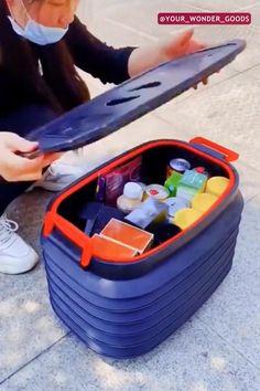 Car Gadgets, Gadgets And Gizmos, Tool Storage, Garage Storage, Garage Cabinets, Car Tools, Apple Orchard, Car Lights, Kitchen Organization