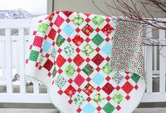 Retro Christmas Quilt....Amy Smart (I have this pattern)