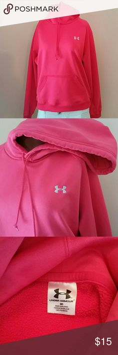 Under Armour Hoodie Great color and comfortable.  Euc. Under Armour Tops Sweatshirts & Hoodies
