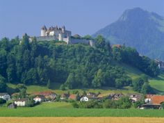 Chateau De Gruyeres, Gruyeres, Fribourg Canton, Switzerland My family came to Brazil from there in the 19th century.