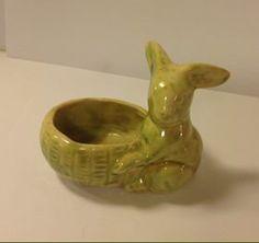 Vintage Crown Lynn Rabbit Easter Egg Cup #2