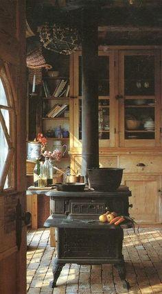 Wood stove!