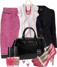 """""""Pencil It In"""" by averbeek on Polyvore"""