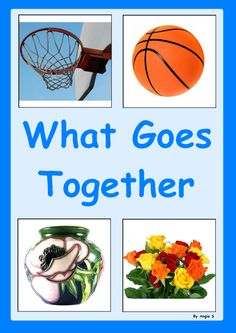 What Goes Together- #Autism and Special Needs Activity, for more resources follow https://www.pinterest.com/angelajuvic/autism-special-education-resources-angie-s-tpt-sto/