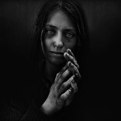 Portraits of homelessness by @Lee_Jeffries  via Flickr